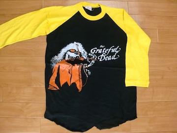 パキ綿 グレイトフルデッド 7分 Tシャツ Mサイズ