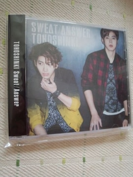 *東方神起Sweat/AnswerCD