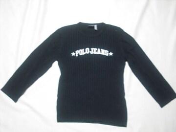 女 RALPH LAUREN ラルフローレン 7分袖ニットセーター XLサイズ