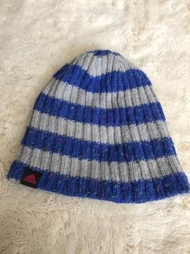 adidas 毛糸帽子  フリーサイズ