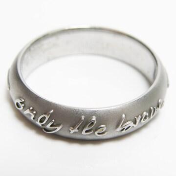DIESELディーゼル リング 指輪 12号 ステンレス 良品 正規品