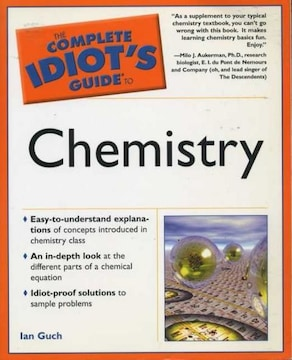 洋書 The Complete Idiot's Guide to Chemistry 送料185円 即決