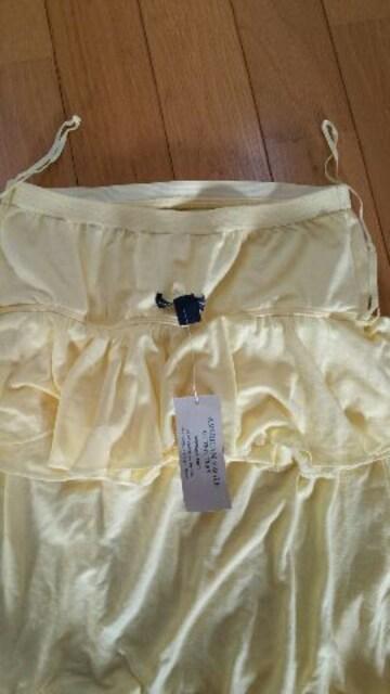 新品❗黄色のワンピース【Sサイズ】 < 女性ファッションの