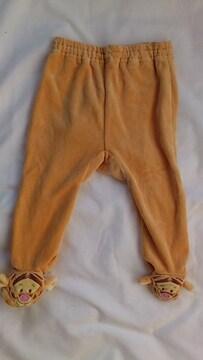 新品〓くまのプーさんキャラクター〓ティガー〓70サイズ〓長ズボン