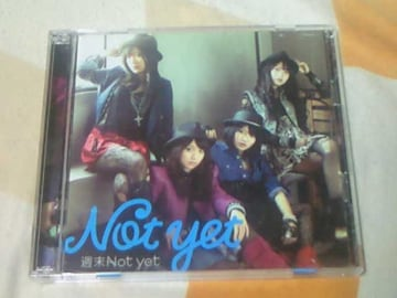 CD+DVD Not yet(AKB48) 週末Not yet Type-A