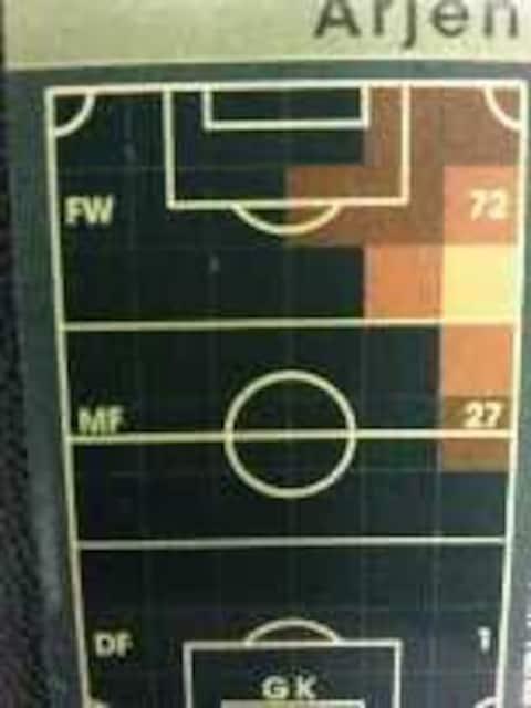 WCCF非売品[1617白アリエンロッベン]FCバイエルンミュンヘンfootballista < トレーディングカードの