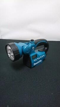 新品:マキタ:充電式ライト付ラジオMR050本体のみ