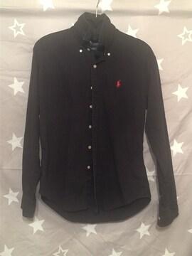 ラルフローレン ブラック シャツ 長袖