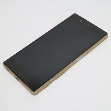 ●美品●SoftBank 501SO Xperia Z5 ゴールド●