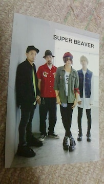 SUPER BEAVER(スーパービーバー)トーキングロック No.79付録ポストカード