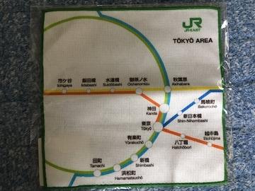 新品未使用 JR東日本 ハンドタオルハンカチ TOKYO AREA