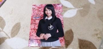 元SKE48松井玲奈☆AKB48オフィシャルカレンダーBOX 2012年付録クリアファイル!