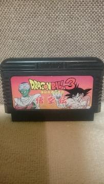 中古 ファミコン カセット ドラゴンボール3 悟空伝 1989