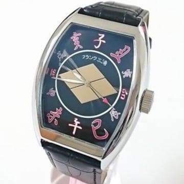 送料無料☆フランク三浦 戦国武将モデル腕時計 武田 信玄 FM06K