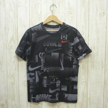 即決☆ナイキ特価ロゴ半袖Tシャツ BLK/Lサイズ 新品 ドライ