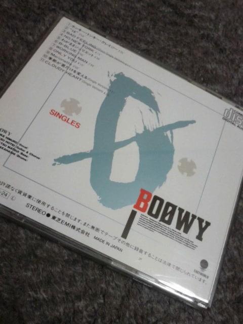 即決BOOWYアルバムCD SINGLES < タレントグッズの