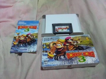 【GBA】スーパードンキーコング3(箱説付)