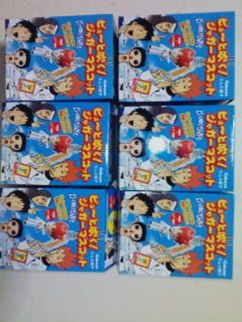 ☆ピュ〜と吹く!ジャガーマスコットノーマル全6種セット☆  < アニメ/コミック/キャラクターの