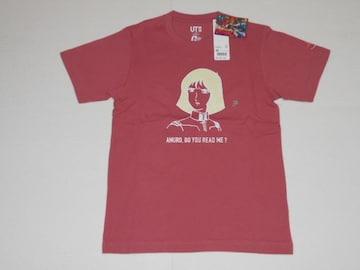 UNIQLO 機動戦士ガンダム 40周年記念 半袖Tシャツ セイラ ピンク