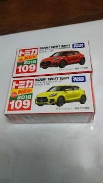 NO.109   SUZKI  SWIFT   Sport  初回特別仕様・新車シール