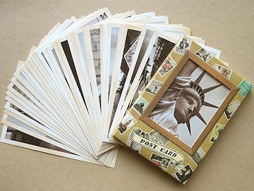 ヴィンテージ風ポストカード 観光地 32枚セット 1/AV1