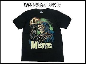 Misfits ミスフィツバンドデザインT-シャツ#37【XL】