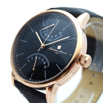 サルバトーレマーラ 腕時計 メンズ SM19105-PGBK
