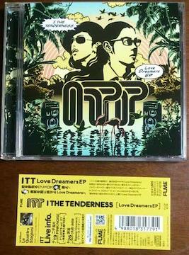 (CD)I THE TENDERNESS/アイザテンダネス☆Love Dreamers EP★帯付き♪