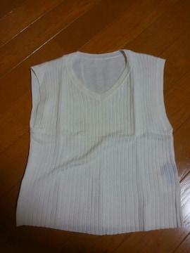 ☆美品☆コムサデモード☆薄地ベスト☆130