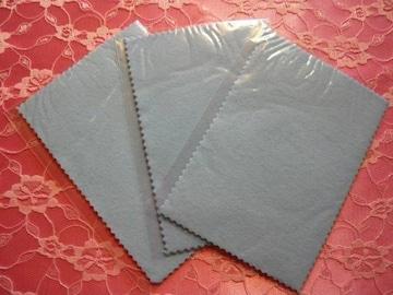 シルバークロス3枚セット3(郵便送料込)シルバー磨き貴金属