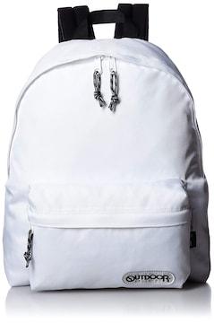 ナイロンデイパック A4 カジュアル 通勤通学 ホワイト