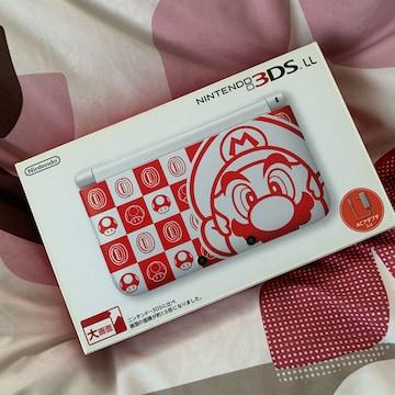 希少限定100台 新品 ニンテンドー 3DSLL マリオホワイト