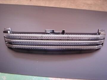 インパクトオールブラッククロームグリル ハイエース200系ワイド