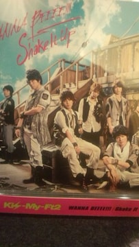 激安!超レア☆Kis-My-Ft2/WANNA BEEEE!☆初回盤/CD+DVD帯付!美品