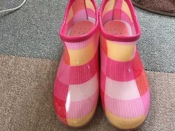 長靴☆ピンク