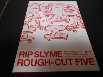 【中古DVD】 RIP SLYME ROUGH-CUT FIVE