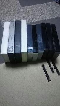 中古VHS用ビデオテープ♪10本