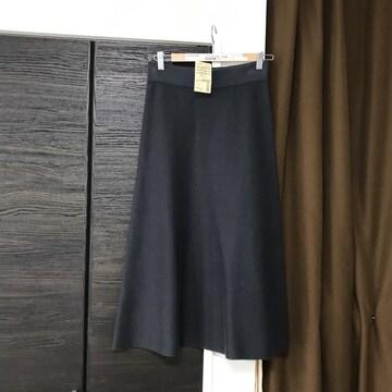 新品未使用フレアスカート無印良品muji着丈83ウエスト平置34