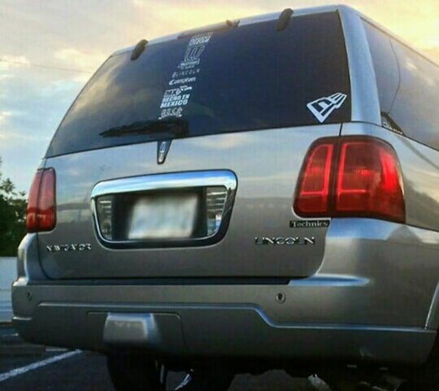 03y〜 Lincolnリンカーン Navigatorナビゲーター ヒッチカバー < 自動車/バイク