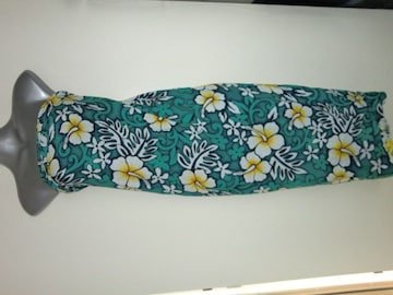 新品ハワイ購入南国お花柄ハイビスカスパレオハワイ検索