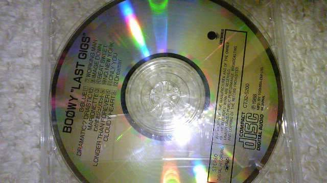 BOOWY CD  < タレントグッズの