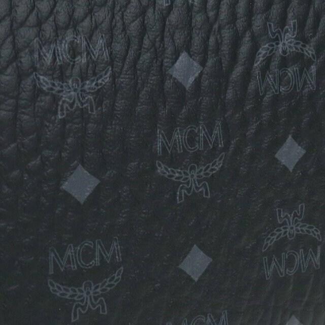 MCMファスナー 長財布 MXLAAVI01 BK001 ブラック メンズ < ブランドの