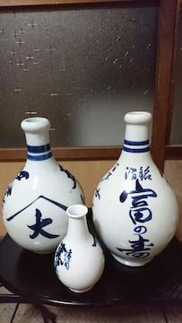 伊万里焼→酒文字徳利→3本