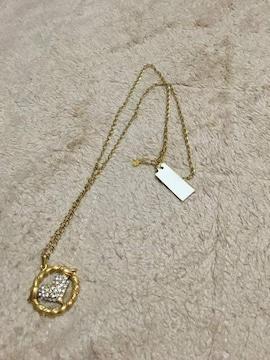 新品  タグ付き  ハート形  ネックレス