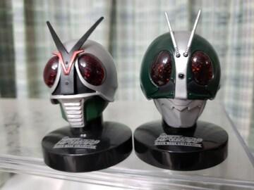 ライダーマスクコレクション 仮面ライダーX 仮面ライダー2号