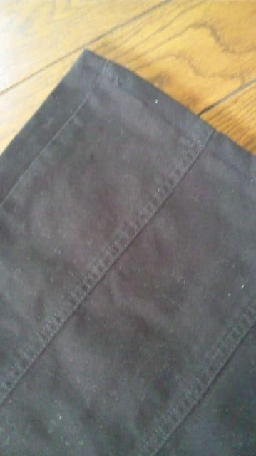【美品】MICHAEL KLEIN ◆black美脚◆洗練wideフレアパンツ◆40 < ブランドの