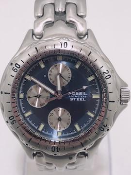 T268 FOSSIL フォッシル FS-2583クォーツ メンズ 腕時計
