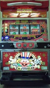 実機 アイムジャグラーEX◆コイン不要機付◆