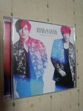 *東方神起Hide&Seek/SomethingCD+DVD