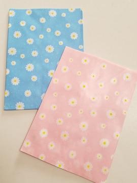 18才サイズ紙袋★プリエールピンク&ブルー★柄紙袋20枚